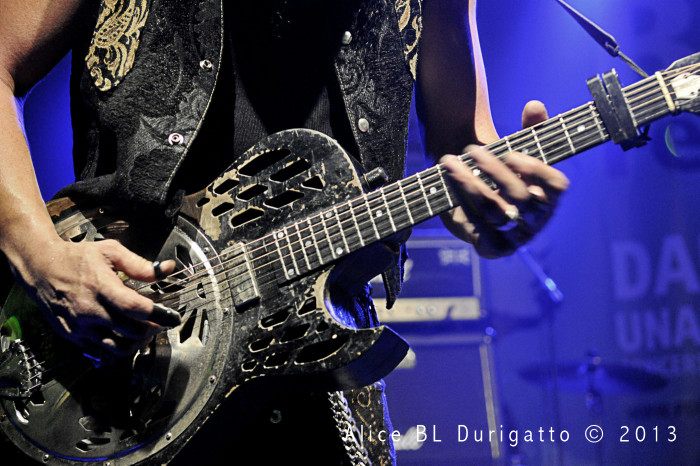 Eric Sardinas al Pordenone Blues Festival