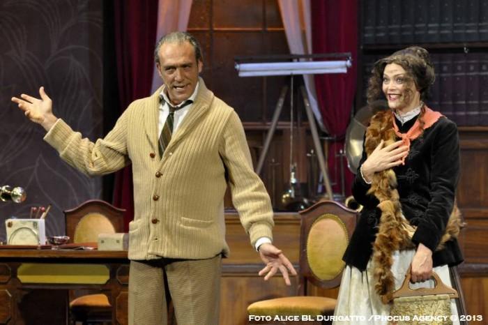 """Vittoria Belvedere e Luca Ward in """"My Fair Lady"""""""
