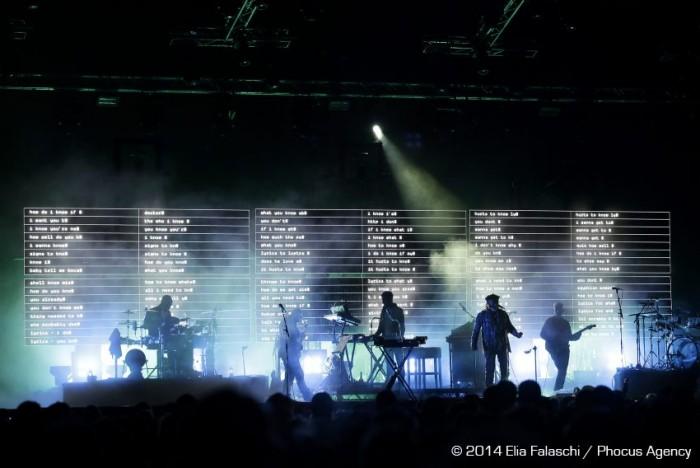 Massive Attack a Hydrogen Festival